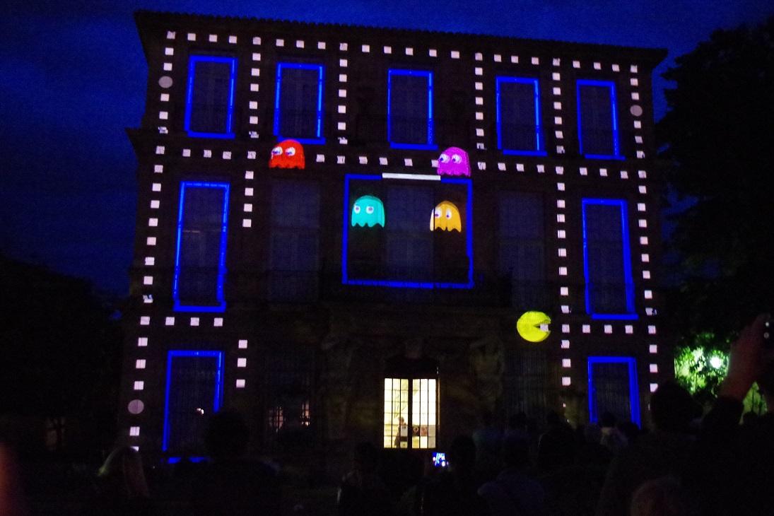 Clichés Irréel maximelicata.fr Nuit des Musées Aix-en-Provence Pacman Vendôme