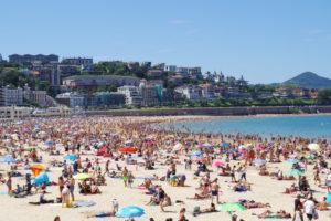Playa San Sabastian - Aste Nagusia- Semana Grande San Sebastian Pais Basco - Veille territoires Maxime Licata maximelicata.fr
