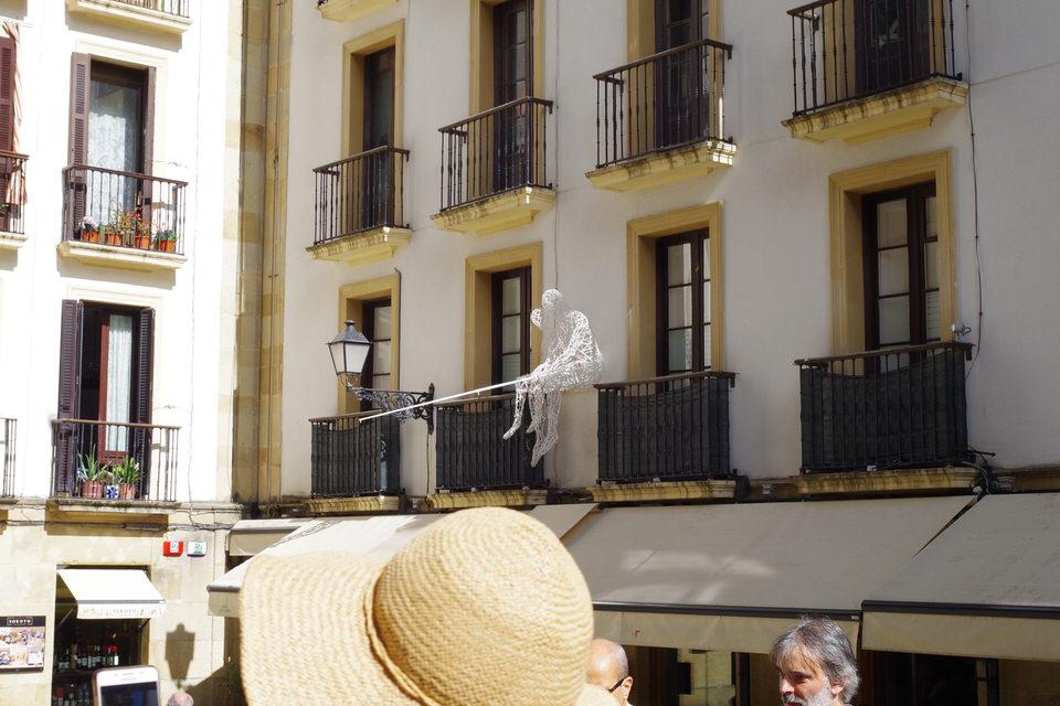 Sculptures - Aste Nagusia- Semana Grande San Sebastian Pais Basco - Veille territoires Maxime Licata maximelicata.fr