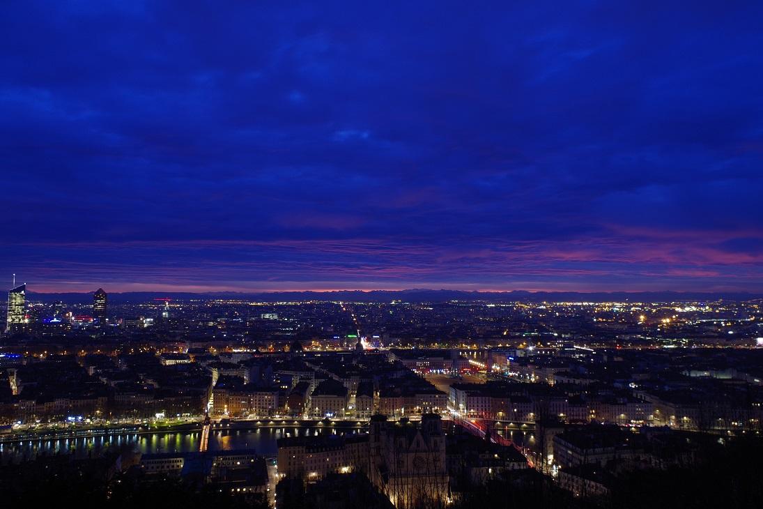 Clichés Hameaux maximelicata.fr Lyon depuis Fourvière